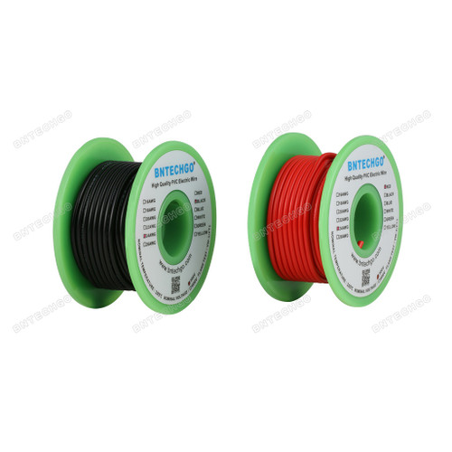 24 AWG 1007 Electric Wire 24 Gauge PVC 1007 Wire Solid Wire Solid Tinned Copper Wire