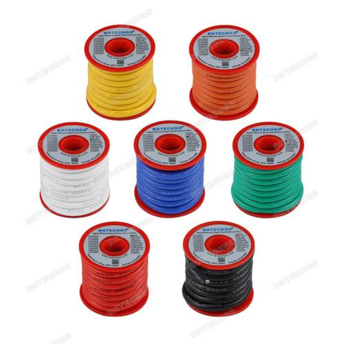 8 Gauge Silicone Wire Ultra Flexible 6 Feet high temp 200 deg C