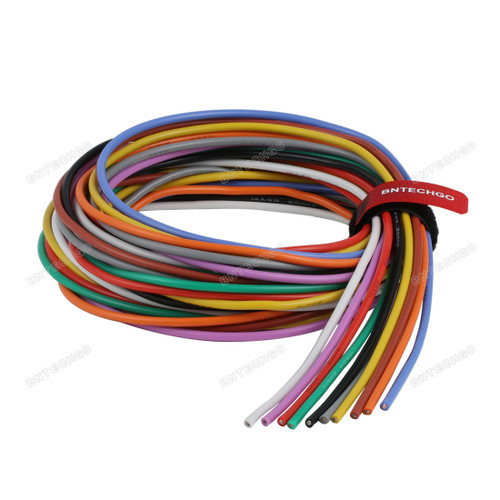 14 Gauge Silicone Wire Kit Ultra Flexible 7 Color