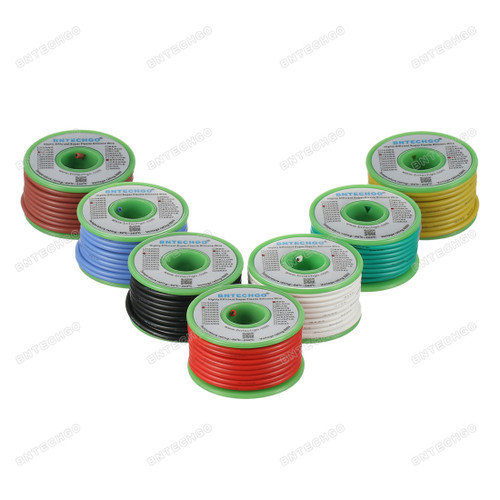 16 Gauge Silicone Wire Kit Ultra Flexible 7 Color