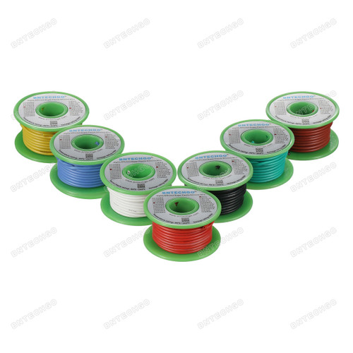 18 Gauge Silicone Wire Kit 7 Color Each 25ft