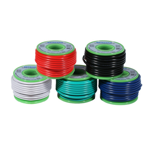 BNTECHGO 18 Gauge PVC 1007 Solid Electric Wire Kit 5 Color Each 20 ft 18 AWG 1007 Hook Up Wire
