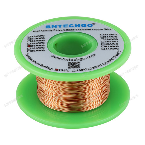 26 AWG Magnet Wire - Enameled Copper Wire