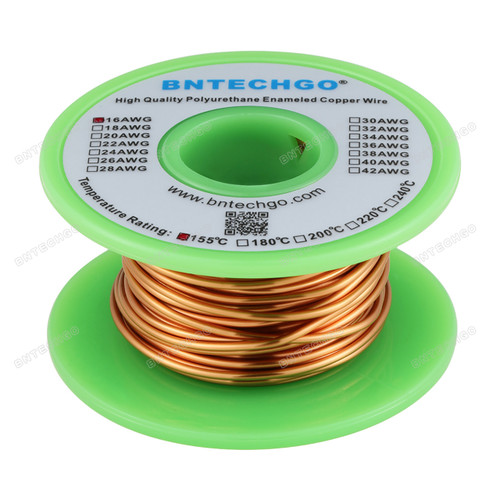 16 AWG Magnet Wire Enameled Copper Wire Enameled Magnet Winding Wire
