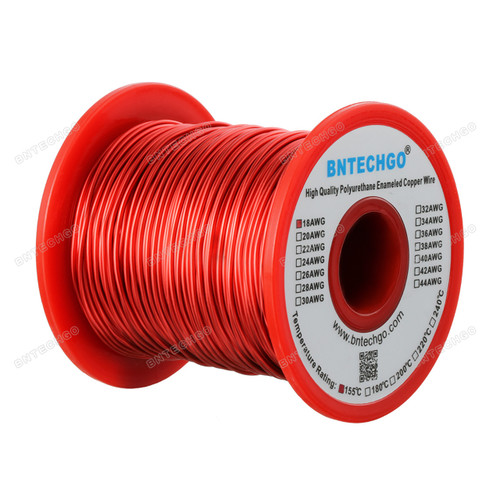 1 Spool Coil Red  Widely Used for Transformers Inductors