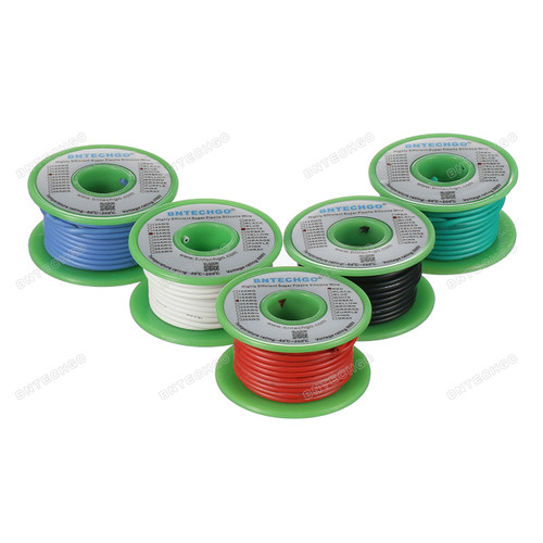 18awg silicone stranded wire has 150 strands 0.08 mm tinned copper wire