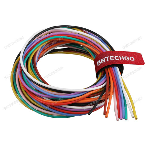 18 Gauge Silicone Wire Kit Ultra Flexible 10 Color