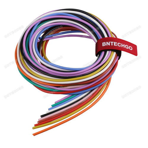 16 Gauge Silicone Wire Kit Ultra Flexible 10 Color High Resistant 200 deg C
