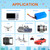 Widely used for single color LED strip lights various DC electrical hookups