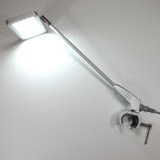 LED Stem light with tube clamp