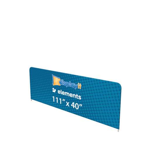 "111"" x 40"" Elements Sidewall Frame and Graphic (Mix-and-Match)"