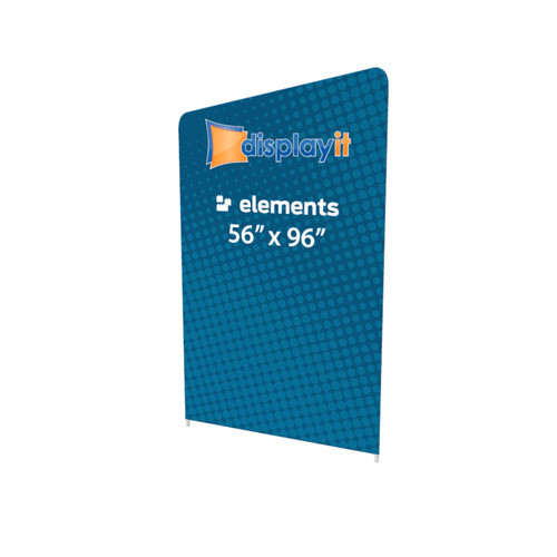 """56"""" x 96"""" Elements Frame and Graphic (Mix-and-Match) - Left Slope Top"""