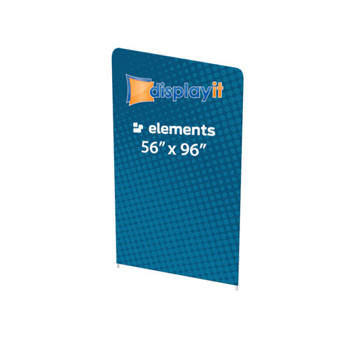 """56"""" x 96"""" Elements Frame and Graphic (Mix-and-Match) - Right Slope Top"""