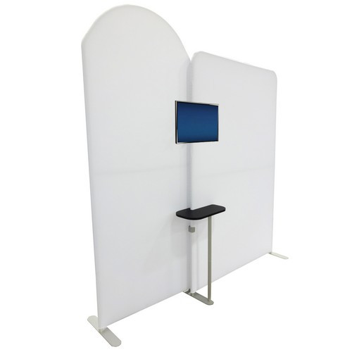 Ensemble Accessory - Mini Backwall Counter with Monitor Mount