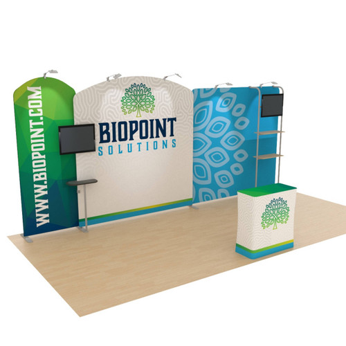 10' x 20' Ensemble Portable Product Display - Kit B