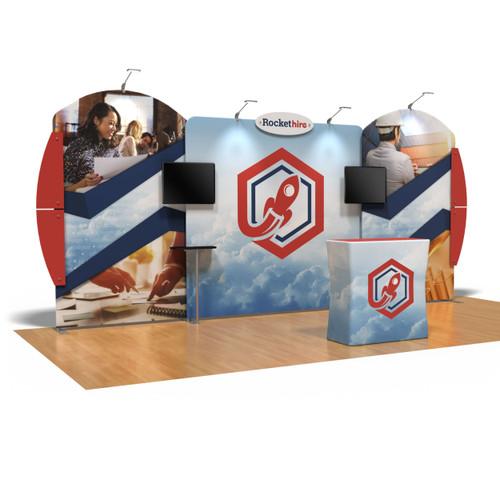10' x 20' Ensemble Portable Product Display - Kit C (FanFav)