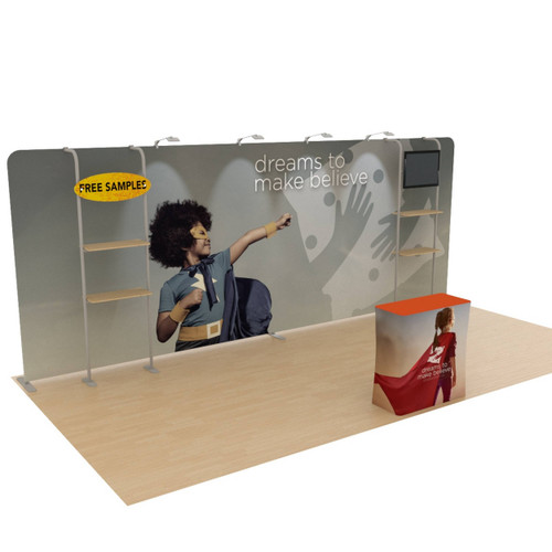 10' x 20' Ensemble Portable Product Display - Kit E