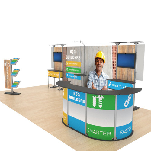 10' x 20' Exhibitline Display - Kit 20.02