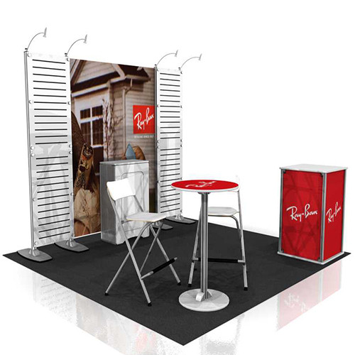 10 Foot Exhibitline Display - Kit A