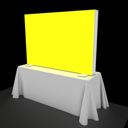 6 Foot Flare Backlit Table Top Display - Replacement Graphic