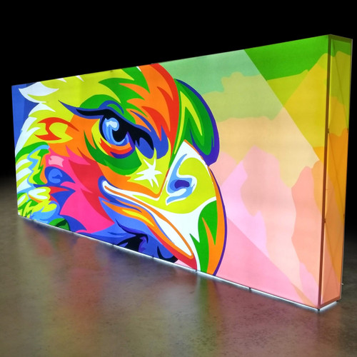 20 Foot Graffiti:Plus Backlit Display