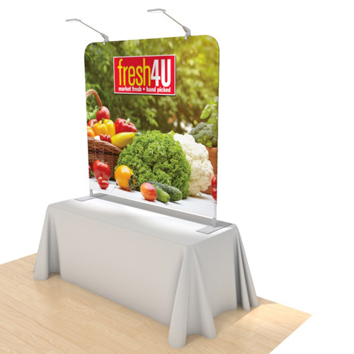 6 Foot Table Top Helium Display