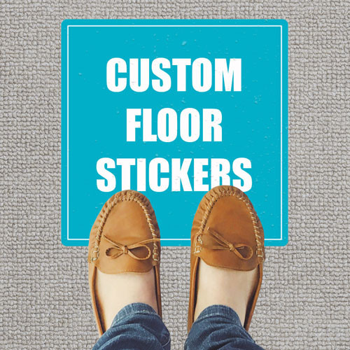 Custom Carpet Stickers (Pack of 5)