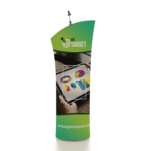 """Clearance - 33"""" x 80"""" Mobi Banner Stand - Slope Top"""