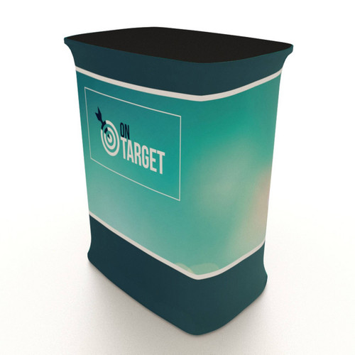 Mobi Rectangular Collapsible Counter
