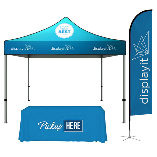 10' x 10' Custom Tent Package A
