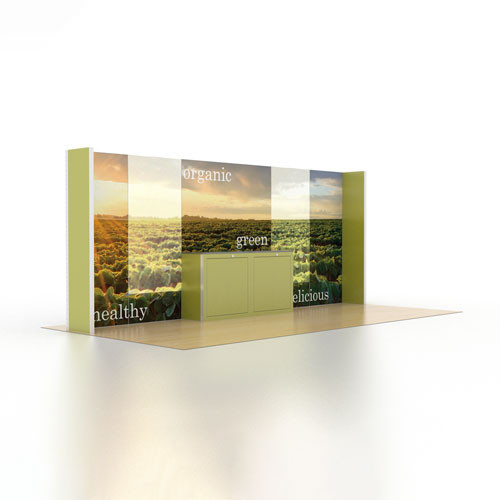 10' x 20' Rental Display with Accent LED Video Panels - Kit 18