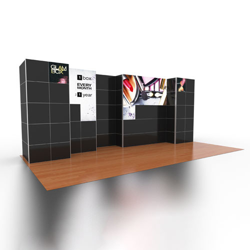 10' x 20' Rental Display LED Video Wall Mosaic - Kit 22