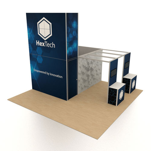 20' x 20' Rental Display with Tower and Conference Room - Kit 01