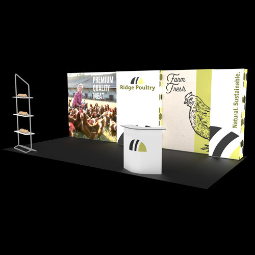 10' x 20' Graffiti:Plus Rental Display - Kit R-B
