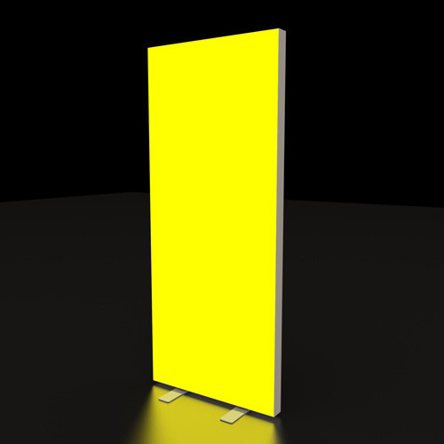 """33"""" x 79"""" Backlit Renew Bright Banner Stand - Replacement Graphic"""