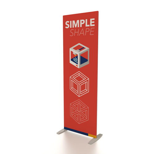 """30"""" x 90"""" Renew LT Fabric Banner Stand"""
