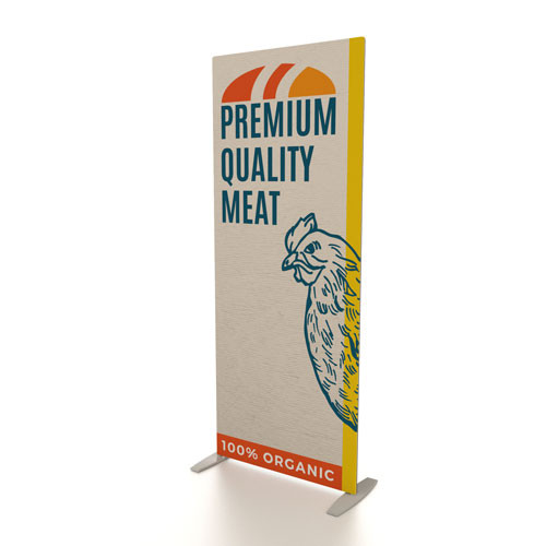 """36"""" x 90"""" Renew LT Fabric Banner Stand"""