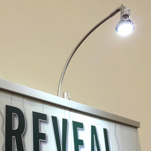 LED Stem Light for Retractable Banner Stands