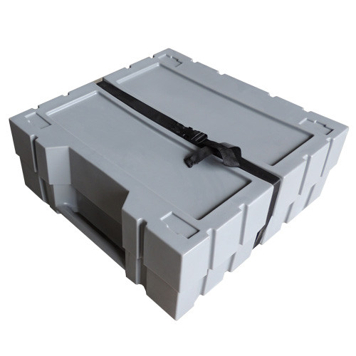 Small Flat-Packing Wheeled Shipping Case