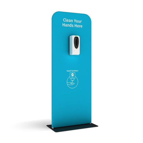 Hand Sanitizing Station 03 with Pre-Designed Graphics