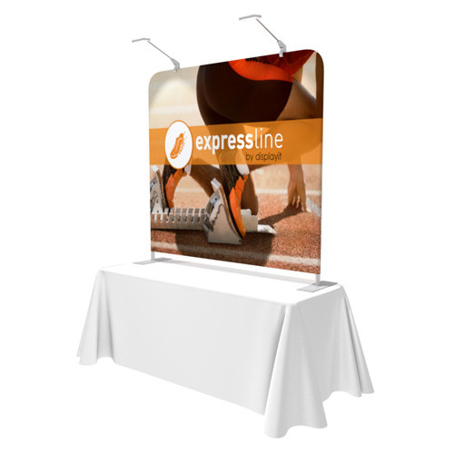 Expressline - 6 Foot Table Top Helium Display