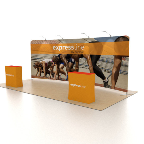 Expressline - 20 Foot Curved Helium Display