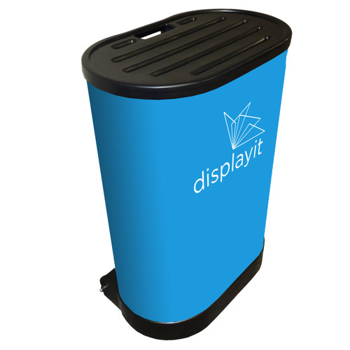 Pop-up Display Wheeled Shipping Case with Case Wrap
