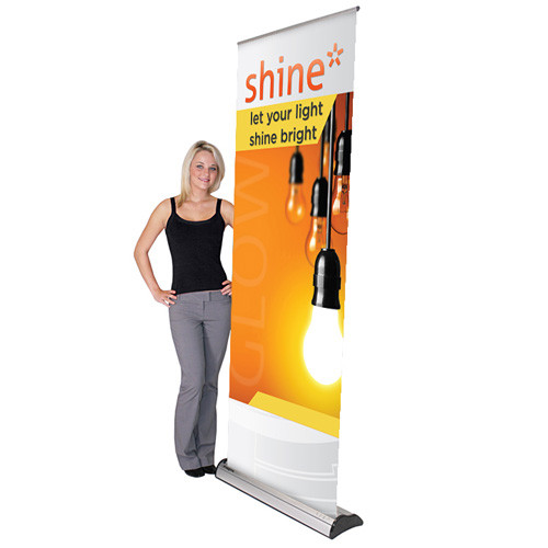 """31.5"""" x 84"""" Imagine Retractable Banner Stand"""