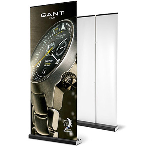 "33.5"" x 84"" M2 Retractable Banner Stand"