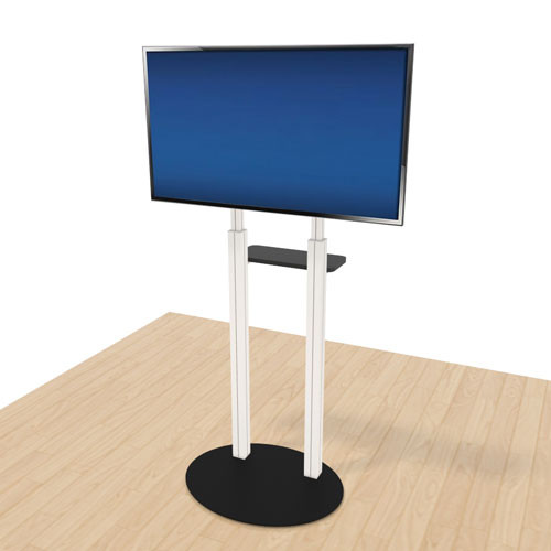 Displayit Large Adjustable Monitor Stand