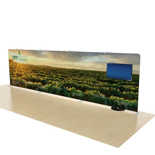 27 Foot Elements Display with Monitor Stand