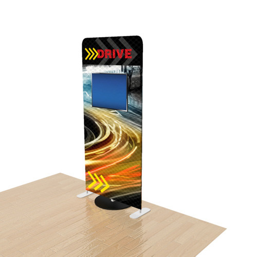 3 Foot Elements Display with Monitor Stand