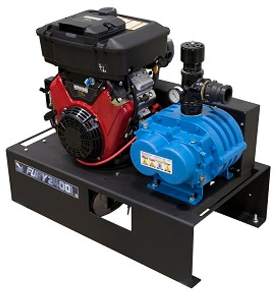 Fury 2400, Compact Vacuum Unit - 20HP Honda Electric Start - 355 CFM