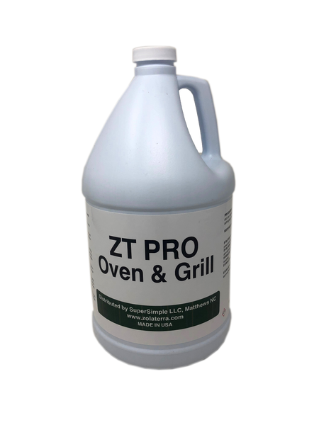 ZT PRO OVEN & GRILL CLEANER, 1 Gallon, Case of 4